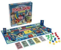 story junior monopoly board description