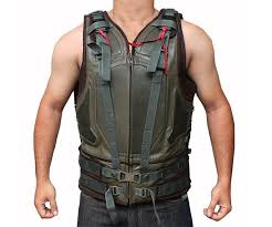 Bane Halloween Costume Dark Knight Rises Bane Costume Bane Mask Voice Changer Tactical Vest Coat