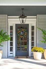 Front Porch Floor Paint Colors by Beautiful Beachy Front Door Stonington Gray Exterior Navy Blue
