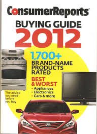 consumer reports buying guide 2012 consumer reports amazon com