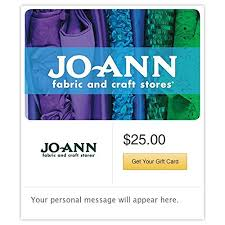 Jo Ann Fabric And Crafts Amazon Com Jo Ann Fabric And Craft Stores Gift Cards