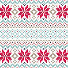 christmas pattern nordic pattern uploaded by virág on we heart it