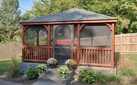 Backyard Gazebos Pictures - buy a gazebo pavilion pergola or cabana in wood or vinyl