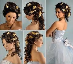 Frisuren Selber Machen Rundes Gesicht by Brautfrisuren Selber Machen Bilder Ideen Für Schöne Frauen Locken