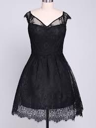 lace spliced v neck mini a line dress sammy dress minis and men