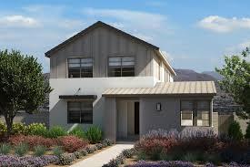 modern farmhouse elevations plan 1 strada las vegas pardee homes