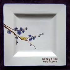 guest book platters guest book floral scroll cake signature plate guestbook
