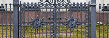 ornamental doors small arch iron door