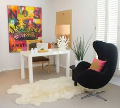 Armchair Side Table Office Modern Home Office Ideas With Black Armchair And Black