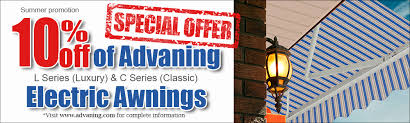 Electric Awnings Price Summer Promo 10 Off Of Advaning Classic C Series Awnings