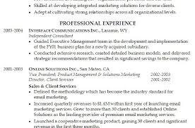 executive summary example resume business operations executive