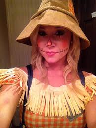 Womens Scarecrow Halloween Costume Cute Scarecrow Makeup Ideas Scarecrow Makeup Halloween