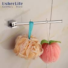 haken badezimmer usherlife chrom poliert messing robe haken badezimmer