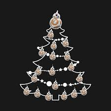 wars christmas bb8 wars christmas tree baubles bb8 t shirt teepublic