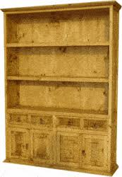 Rustic Wood Bookshelves by Rustic Bookcases Rustic Bookshelf Wood Bookcase