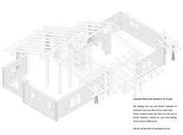 shenandoah log home floor plan