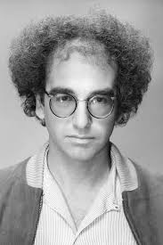 even as a young guy larry david was a bitter messy disaster