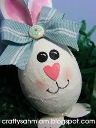 paper mache easter bunny crafty sahm i am repurposed plastic egg paper mache punch bunny