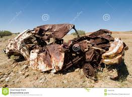 wrecked car old wrecked car in outback australia stock photo image 14466708