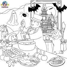 printable halloween coloring pages for kids