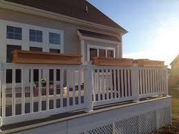 how to make a deck rail planter bob vila