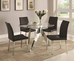 chrome round dining table outstanding silver chrome round dining table glass dining table top