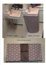 pink and brown bathroom ways to make bathroom sink look cute