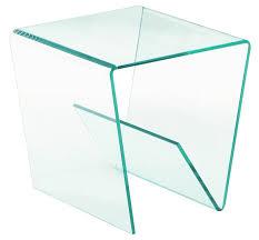 bout de canap verre bouts de canapes meubles et rangements bout de canap hestia en verre