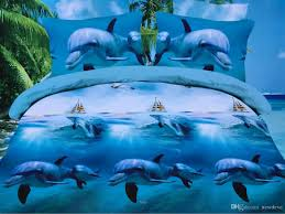 wholesale comfortable 3d cartoon bed cover sheet two pillowslips