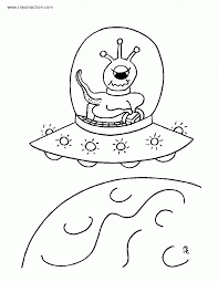 aliens coloring page coloring home