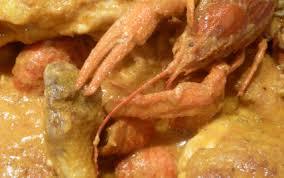 cuisiner des ecrevisses recette poulet aux écrevisses 750g