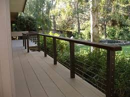 cable railing for decks cable deck railing systems gallery