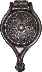 celtic design cast iron door knocker designed u0026 sold by robin