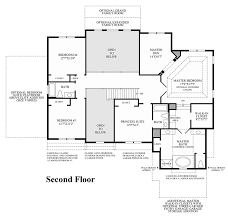Classic Colonial Floor Plans by The Hills At Lagrange The Duke Home Design