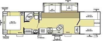 c trailer floor plans wildwood le 36bhss bunkhouse travel trailer a garden tub rvs