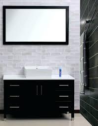 retractable mirror bathroom wall mounted lighted makeup mirror