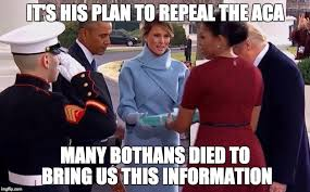 Many Bothans Died Meme - image tagged in melania gift to michelle imgflip