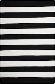 Black White Area Rug Fab Habitat Nantucket Woven Black Indoor Outdoor Area Rug