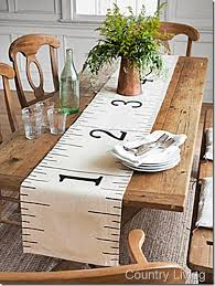 confessions of a plate addict country living inspired ruler table