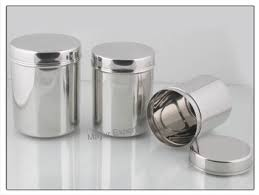 kitchen canisters stainless steel stainless steel canister buy stainless steel tea canisters