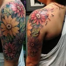 floral tattoo quarter sleeve flower quarter sleeve tattoo designs beautiful flower 2017