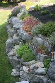 home depot front yard design how to build a retaining wall on hillside short ideas rock garden