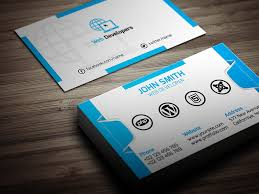 Photography Business Cards Psd Free Download 15 Web Developer Business Card Psd Templates Creative Template