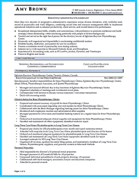 Sample Of Executive Assistant Resume by Sample To Make Administrative Assistant Resume