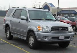 2003 toyota sequoia information and photos zombiedrive