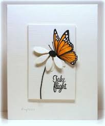 Designs Of Greeting Cards Handmade How To Hand Made 3d Greeting Card Step By Step 3d Butterfly