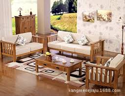 Wooden Living Room Sets Sofa Fabulous Simple Wooden Sofa Sets For Living Room Set