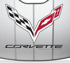 stingray corvette logo 2014 2018 c7 corvette stingray logo accordion style sunshade insulat