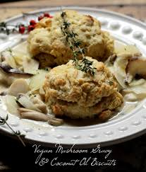 vegan thanksgiving recipes herb gravy biscuits