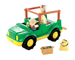 jeep safari truck amazon com fisher price little people zoo talkers animal sounds